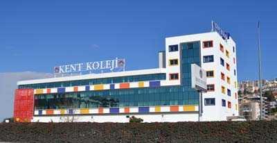 Kent Koleji Karşıyaka Çiğli Kampüsü cephe ve ek tesis çalışmaları 1 etabı tamamlandı