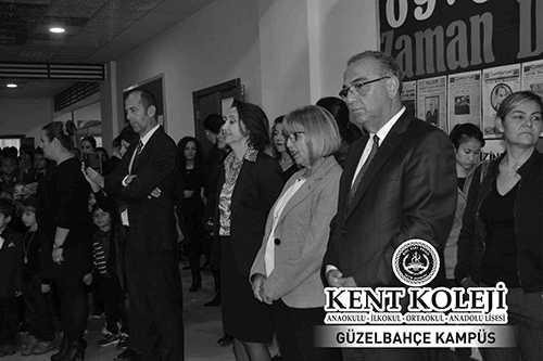 Kent Eğitim Kurumları Büyük Önder Atatürk'ü Anıyor