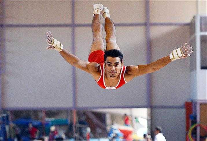 Ayın Sporcu Konuğu Milli ve Olimpiyat Sporcusu Ferhat ARICAN Okulumuzdaydı.