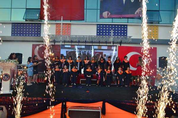 2017-2018 KENT KOLEJİ KARŞIYAKA/ÇİĞLİ KAMPÜS ANAOKULU MEZUNİYET TÖRENİ