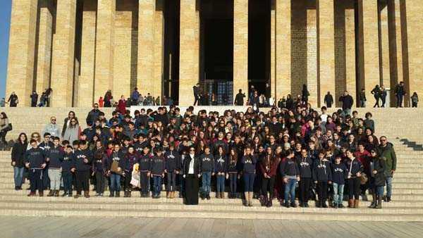 Kent Koleji Eskişehir Ankara Gezisi